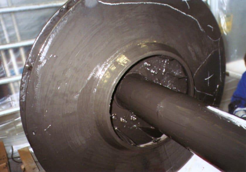 High temperature epoxy ceramic coating   Maxceram 500   Maxkote   UK