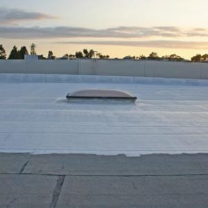 Liquid applied Roof membrane