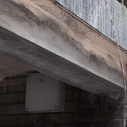 CONCRETE REPAIR TO Lintel Repair