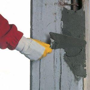 MaxCrete 100 used to repair concrete column