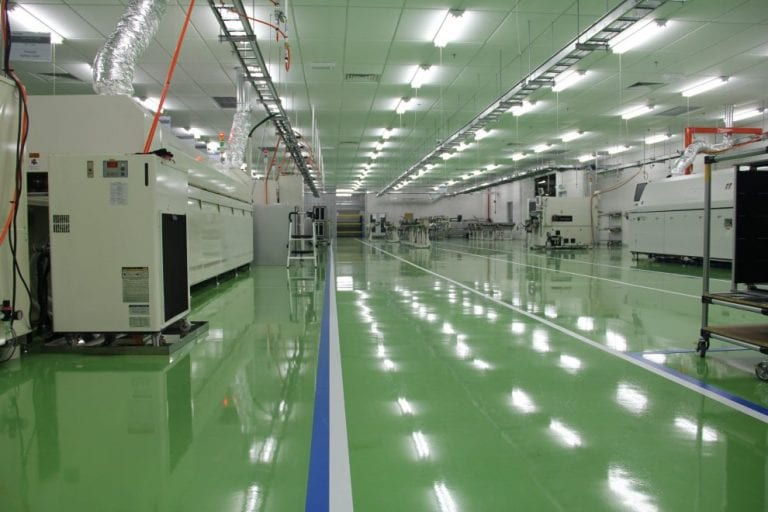 Maxflo 200 – Anti-static epoxy floor coating