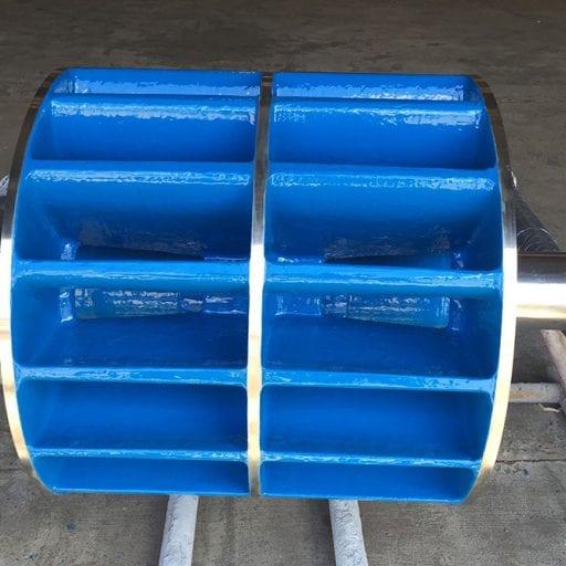 Rotary valve protected with MaxCeram Epoxy ceramic coating