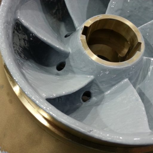 Pump impeller protection