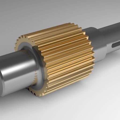 keyway repaired using epoxy metal repair compound