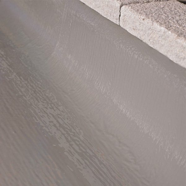 Liquid applied roof membrane