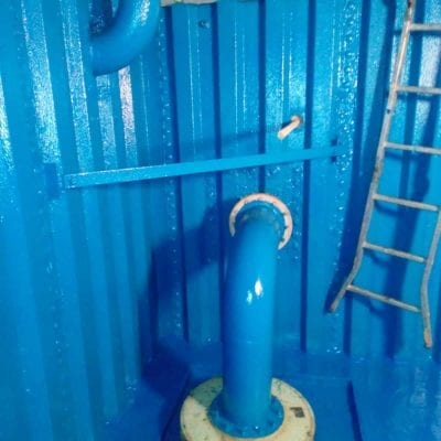 STEEL WATER TANK COATING