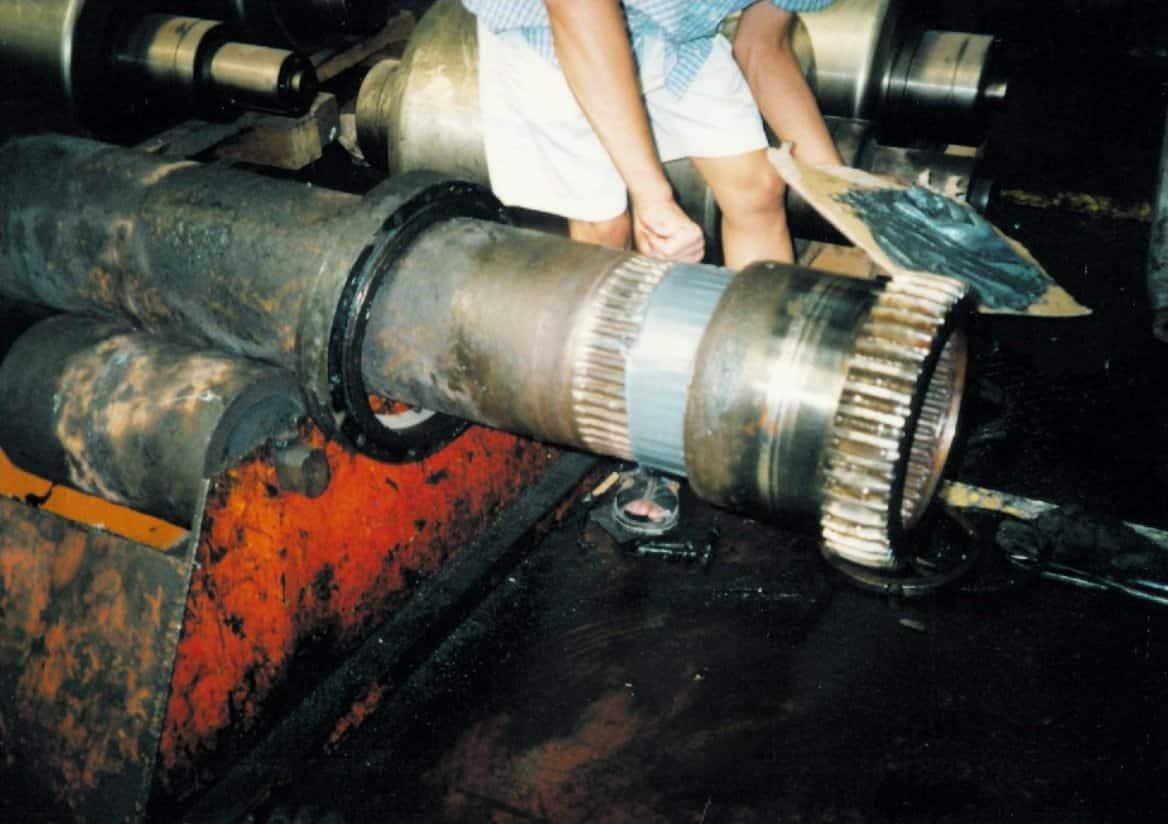 Shaft-spline-repair
