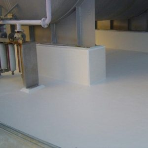 Chemical resistant epoxy coating